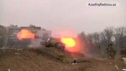 Donetskdə separatçılar atış üzrə təlim keçirlər