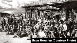 Деревня Самарово. Сельский сход. Начало XX века