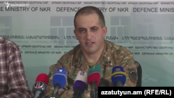Пресс-секретарь Армии обороны Нагорного Карабаха Сурен Сарумян