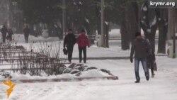 В Крыму непогода