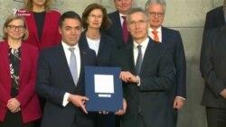 НАТО і Скоп'є підписали протокол про вступ Македонії до альянсу – відео