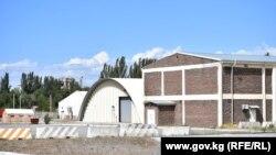 Полевой госпиталь «Семетей» на территории бывшей военной базы Ганси.