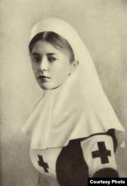 Мария Бритнева-Букналл. Фото из книги ее воспоминаний.