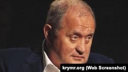 Анатолій Могильов у студії Радіо Свобода (у 2014-му голова Ради міністрів Криму)