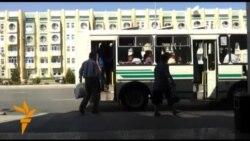 Türkmenabadyň jemgyýetçilik transporty