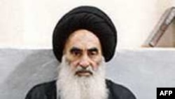 Grand Ayatollah Ali al-Sistani (file photo)