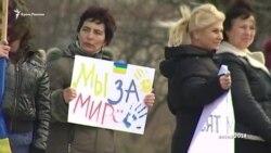 Qırımda Rusiye işğaline qarşılıq nasıl kösterildi (video)