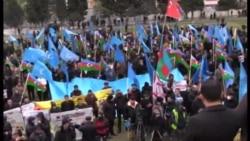 Митинг протеста партии «Мусават» 14.12.2014