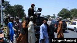 شماری از اعضای گروه طالبان در هرات