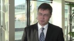 Єврокомісар з питань євро та соціального діалогу Валдіс Домбровскіс
