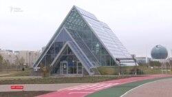 На территории Ботанического сада возводят спортивный объект