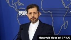 سعید خطیبزاده٬ سخنگوی وزارت خارجه ایران
