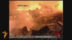 Libyan TV Shows Damage From Air Strikes
