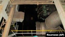 نمایی از موتورخانه کشتی ساویز