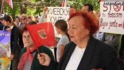 В Симферополе прошел митинг в поддержку «референдума» на Юго-Востоке Украины
