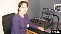 Балли Мажец в студии Азаттыка. Прага, 27 апреля 2009 года.