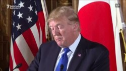 Trump: U.S. Stands With Japan Against 'North Korean Menace'