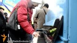 У Луганську намагалися зірвати акцію «Інструмент свободи»