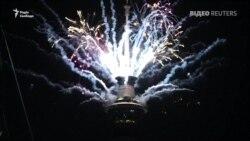 Новы год у Новай Зэляндыі сустрэлі піратэхнічным шоў. ВІДЭА