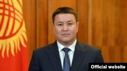 Талант Мамытов, президенттин милдетин аткаруучу, Жогорку Кеңештин төрагасы.