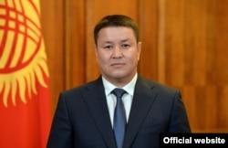 Kyrgyz acting President Talant Mamytov (file photo)