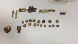 Артефакты из «древнего» захоронения