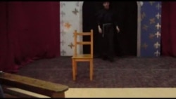 "Фрагмент из спектакля ""Жанна Д'Арк"""