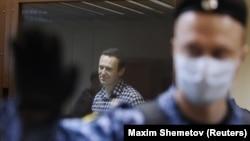 Мухолифатчи Алексей Навальний суд залида, Москва, 2021 йил 20 феврали