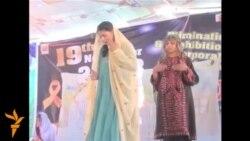 На заході Пакистану у місті Кветта студенти зробили виставу за підсумками трьохтижневого походу проти застосування тілесних покарань