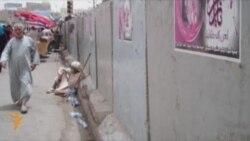 Autoritetet në Bagdad heqin muret