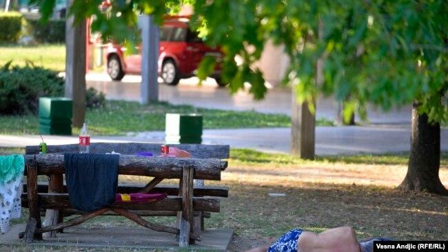 Beograd na +38 °C u hladu