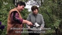 Hegyi-Karabah: örmény civilek az erdőben leltek menedékre