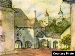 Один из рисунков Юрий Павловича Спегальского
