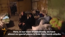 Life In A Debaltseve Bomb Shelter