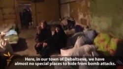 Life In A Debaltseve Bomb Shelter