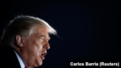 АҚШ президенти Дональд Трамп Айовада, 14 октябрь, 2020
