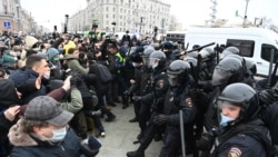 What's Different About The Latest Protests Across Russia?