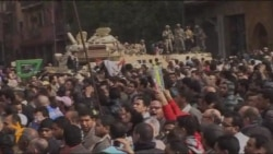 Egyptian Protests Resume