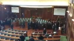 Forca të shtuara të sigurisë brenda sallës së Kuvendit