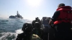Учения «Си Бриз – 2019» на борту американского эсминца «Карни»