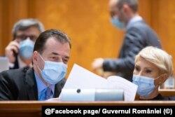 Romania Ludovic Orban Raluca Turcan