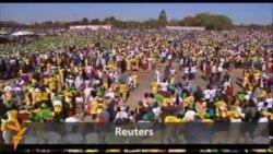 Диктатор Мугабе призывает проголосовать за него