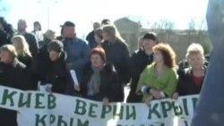 Акмәчеттә хатын-кызлар Мәскәүдән ярдәм сорады