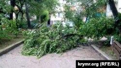 Последствия ливня в Севастополе, 18 июня 2021 года