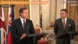 Прем'єр Британії підтверджує відданість мирному процесові в Україні