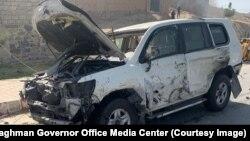 سخنگوی رحمتالله یارمل والی لغمان به رادیو آزادی گفت که در این حمله کاروان وسایط آقای یارمل در شهر مهترلام امروز هدف قرار گرفت.