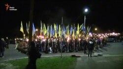 Черкащани зі смолоскипами пройшли маршем пам'яті (відео)