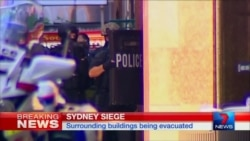 Hostages Held In Sydney Cafe