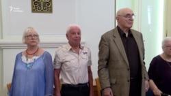 У Празі вшанували 8 росіян, які протестували у Москві в 1968-му проти вторгнення СРСР до Чехословаччини – відео