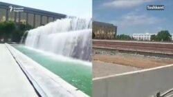 В Ташкенте снесли фонтан – один из самых известных символов узбекской столицы